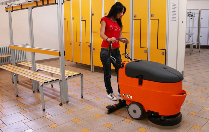 CTM Alcor Pedestrian Floor Scrubber Dryer
